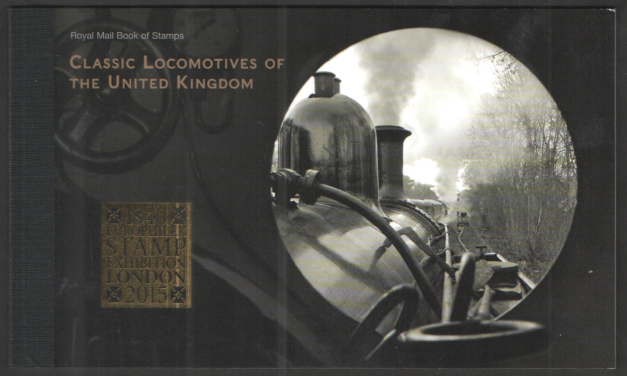 DY9 / DB5(61) Europhilex Overprint 2014 Classic Locomotives Prestige Booklet